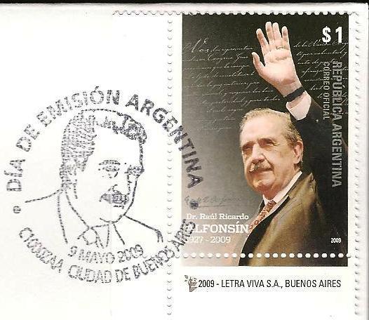 1927 - Raúl Alfonsín - 2009