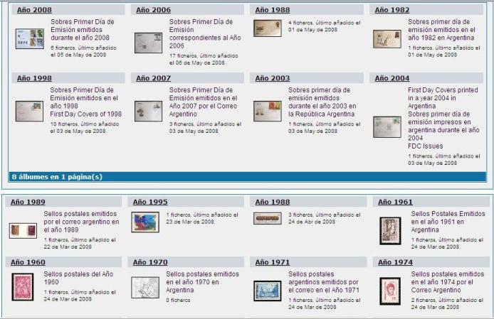 Catálogo Web que confeccionaba años atrás y que ya no lo actualizo