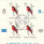 Exposición Interamericana de Filatelia 1978 - Churrinche