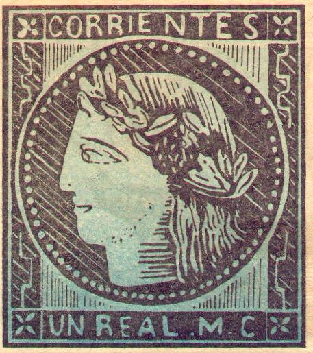 Primer sello postal argentino