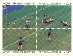 Diego Armando Maradona goal to United Kingdom in 1986s
