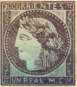 First Corrientes Postage Stamp