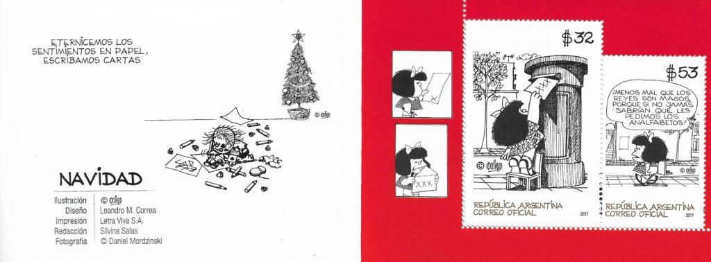 Navidad 2017 - Serie de Navidad de Mafalda