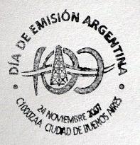 Matasello 100 Años del Primer Pozo de Petroleo de Comodoro Rivadavia