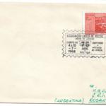 Carta Real Circulada desde Brasil (Río de Janeiro) hacia la Ciudad de Rosario en la provincia de Santa Fé ( Argentina) - Año 1968