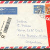 Real Letter sent from Helvetia to Argentina 1996
