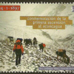 First climb to The Aconcagua Mountain