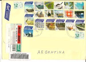 Carta Real Circulada desde Holanda a la Argentina