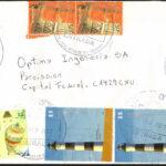 Carta Circulada en Ciudad de Buenos Aires con Serie Faros - Febrero 2011