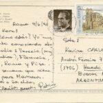 Tarjeta Postal Circulada Real desde España
