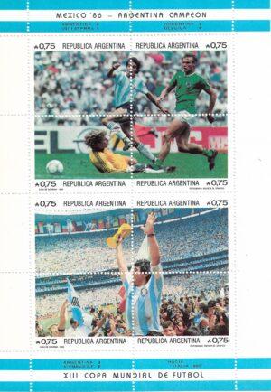 Maradona y la Copa del Mundial 1986