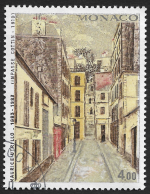 Pintura de Maurice Utrillo