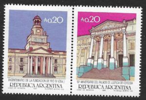 Aniversarios de Ciudad de Rio Cuarto y del Palacio de Justicia de Córdoba - 1986